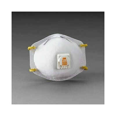 Bellissimo 3m Particulate Respirator N95, 10 Per Box Mmm7185 Brand New!