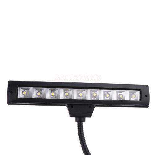 Notenpult Leuchte Notenständer Licht Lampe 9 LEDS Leselampe Klemmleuchte