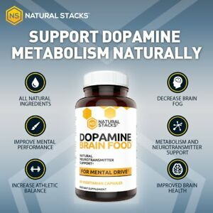 Details about NEW! Dopamine Brain Food Supplement - All Natural  Neurotransmitter Support