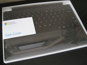 Details about Microsoft - Surface Pro 4 Type Cover FMM-00001 - Black -  BRAND NEW