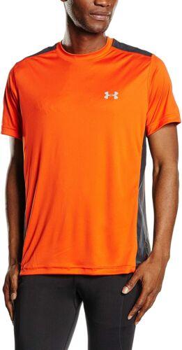 New Orange Under Armour UA Men/'s Armour Vent Short Sleeve Gym T-Shirt