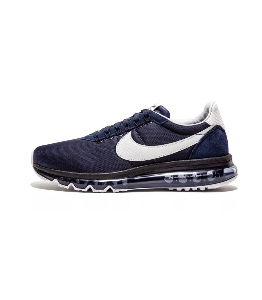 Nike bianco air max: zero ossidiana bianco Nike 848624 410 hiroshi fujiwara sz 4.5/wmns sz 6 9de86b