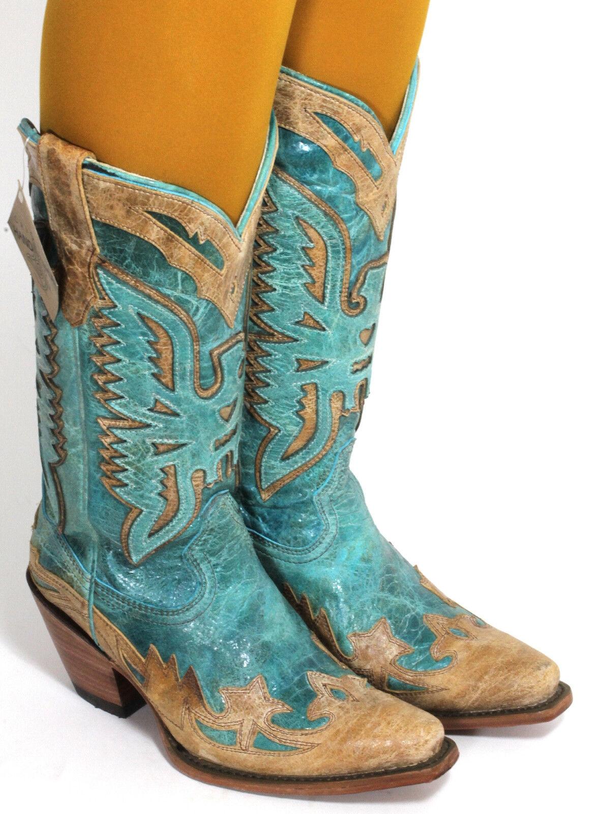 14 Cowboystiefel Westernstiefel Texas Rudel Catalan Style Stiefel Fashion 37