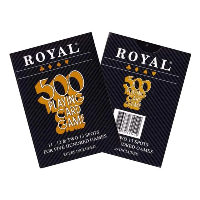 Royal 500 Playing Card Game NEW