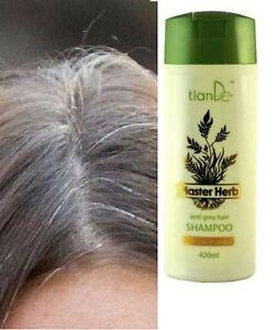 Anti Grey Hair Shampoo Master Herb TianDe, 420 ml   eBay