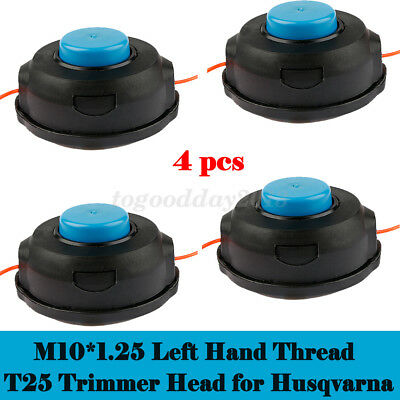 STRIMMER HEAD TWIN LINE TO FIT HUSQVARNA T25 BRUSHCUTTER BUMP FEED TAP N GO