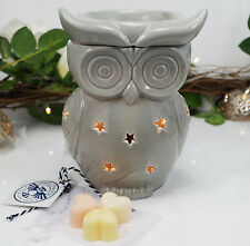Wax Burner -Grey Owl Electric wax tart warmer with light, dimmer & spring scents