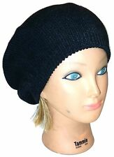Ladies Women Beanie Beret Warm Acrylic Knit  Hat Cap