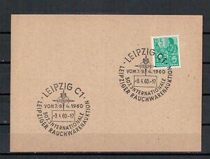 DDR-MiNr-577-B-SSt-Leipzig-507-Int-Rauchwarenauktion-09-04-1960