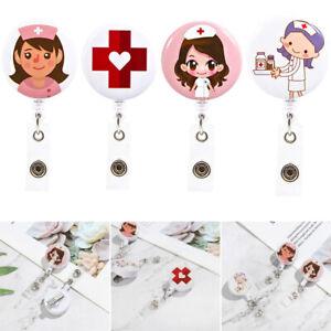 360-Rotation-Retractable-Badge-Reel-Nurse-Display-ID-Name-Card-Badge-Holder-HOT