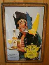 Chapa escudo old st. Croix pirata con un loro retro escudo kneipenschild