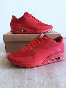 Detalles de Nike Air Max 90 hyperfuse independence Day USA QS Sport red 7.5US40EUR6.5UK