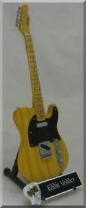 EDDIE VEDDER  Miniature Guitar PEARL JAM w/ Guitar Pick