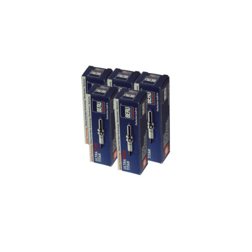 5-Zylinder 5x BERU Zündkerze Zuendkerze ULTRA TITAN UPT8 Set