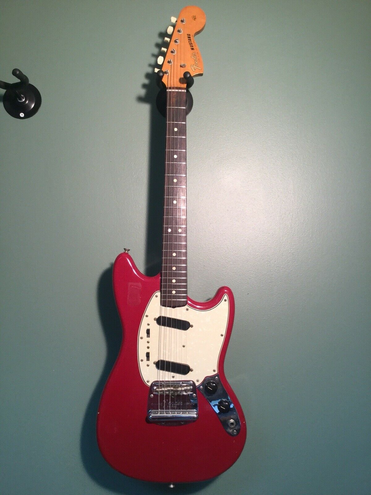 Fender 1965 1966 Mustang Dakota rot Electric Guitar w  Hardcase