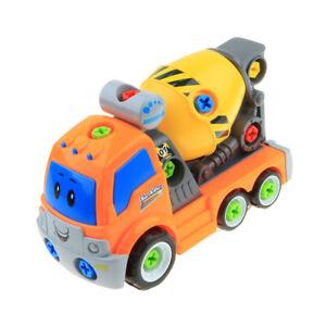 Giocattolo-del-veicolo-della-costruzione-montato-e-smontato-con-il