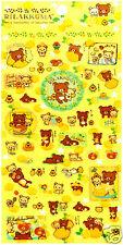 San-x Rilakkuma Lemon Basket Kawaii Sticker Sheet