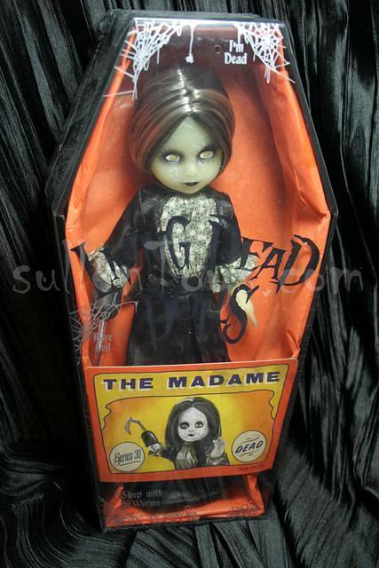 Living Dead Dolls Madame Sideshow Freaks Limited 50 Glows LDD New sullenToys