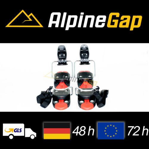 Neue Skibindung von Atomic CARVX Rot für Bigfoot Funcarver Snowblades