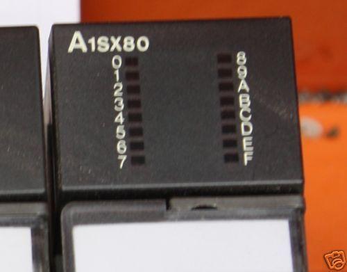 Mitsubishi Melsec  PLC A1SX80 DC input module