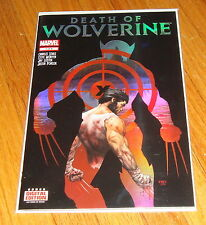 Death of Wolverine #1 1st Print Foil Cover Soule McNiven