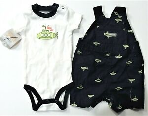 Carters Infant Toddler Boys 2pc Bodysuit Outfits Various Patterns /& Sizes NWT