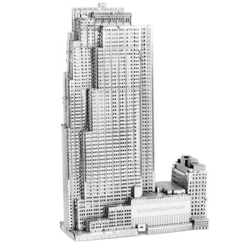 30 Rockefeller Plaza Metal Earth