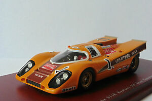 Porsche 917k # 1 Kyalami 9h Équipe Gunston Coca Cola 1970 Talescale Tsm114311 1/43