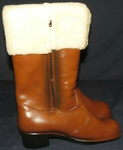 Boots Up Details Rubber Womens Cuff Vintage Sears Sherpa Size Zu Usa Zip 10 Waterproof T12 TlKFJ35u1c