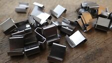 100 GREENHOUSE GLASS Z OVERLAP CLIPS GLAZING LAP COLD FRAME STAINLESS STEEL