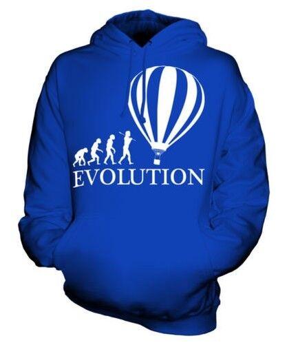Heißluftballon Evolution Of Man Unisex Kapuzenpullover Herren Damen Geschenk