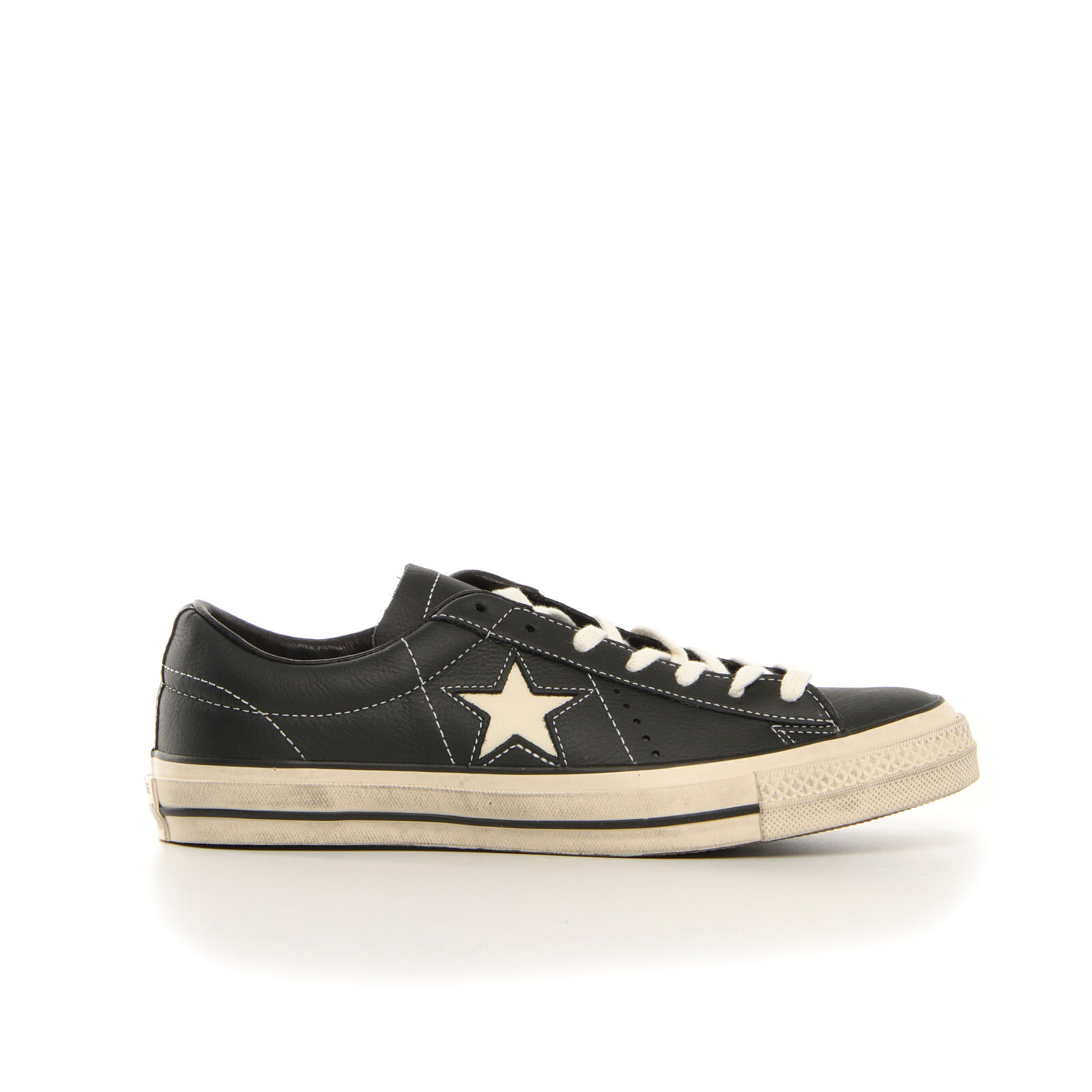 CONVERSE ONE STAR OX LEA DISTRESSE shoes FREE TIME UNISEX 158989C