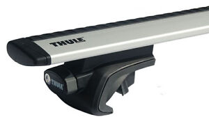 Charming Image Is Loading Thule 757 Foot Pack Thule 961 Roof Bars
