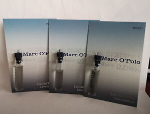 Marc O'Polo Man 3 x 1,2 ml  EDT  Splash Phiolen  Der 1. Duft Herren (Vintage)