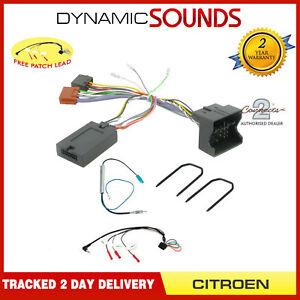 Steering-Stalk-Control-Adaptor-Aerial-Wiring-Kit-For-Citroen-C2-C3-C4-C5-C6-C8