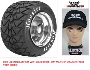Hoosier FLAT TRACK ATV Tire 18.00x11.0-10 Bias-ply Wht Letter 16110T20