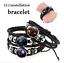 12-Constellation-Bracelets-Men-Women-Genuine-Leather-Stainless-Steel-Bracelet thumbnail 2