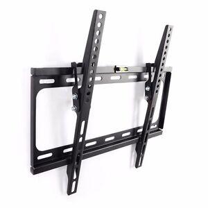 LOCKABLE LOCKING TILT LCD LED PLASMA TV WALL MOUNT 30 32 37 40 42 47 50 BRACKET
