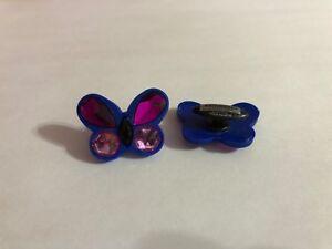 Large-Blue-amp-Purple-Butterfly-Shoe-Doodle-Butterfly-Shoe-Charm-for-Crocs-PSC562
