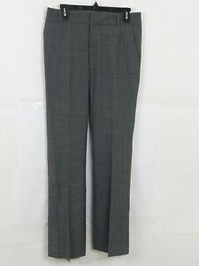 BANANA-REPUBLIC-Womens-Dress-Pants-The-Martin-Fit-Size-4-Gray-Wool-Blend