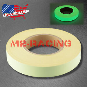 Glow-in-the-Dark-Tape-Stage-Safety-Warning-Home-Decor-1-in-x147-ft-Green