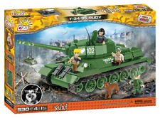 "COBI 2486 T-34/85 ""rudy"" Model Kit 530 Building Bricks"
