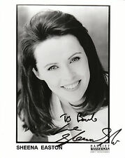 "SHEENA EASTON ,  AUTOGRAPHED  8""x10""  B & W    REPRINT Photo"