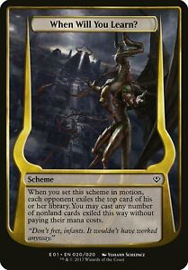Bow to My Command Archenemy Nicol Bolas NM Common MAGIC MTG CARD ABUGames