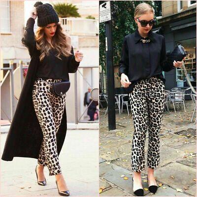 pantalon léopard femme zara