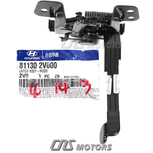 GENUINE Hood Lock Latch for 2012-2017 Hyundai Veloster 1.6L OEM 811302V000