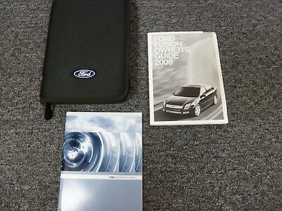 ford fusion sedan owner owners manual user guide