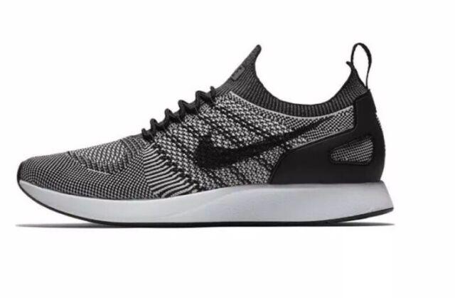 d433a72944c Men s Nike Air Zoom Mariah Flyknit Racer Running Shoe BLK WHT 918264 015  Size 8