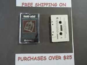 HARD MEAT THROUGH A WINDOW AMPEX CASSETTE W/ PAPER LABEL PSYCH 19A
