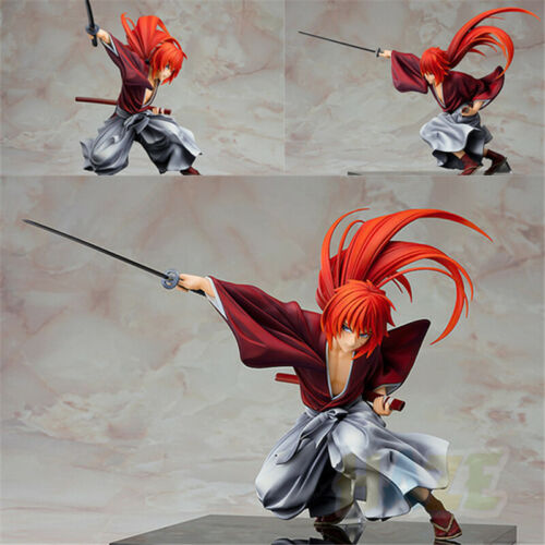 Rurouni Kenshin Meiji Épéiste Histoire romantique Kenshin Himura Figure 18cm Toy
